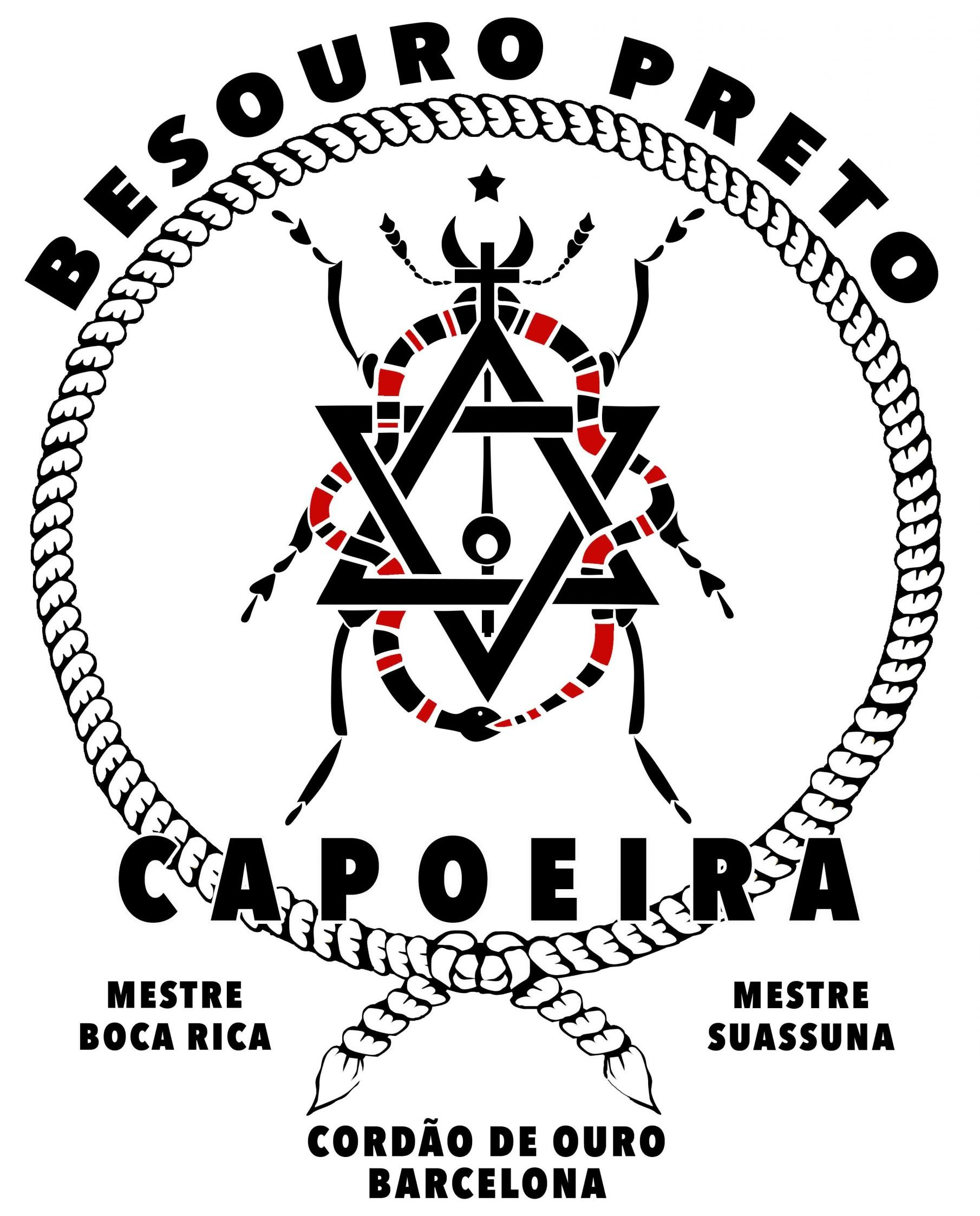 Capoeira Besouro Preto  – Cordão de Ouro Barcelona